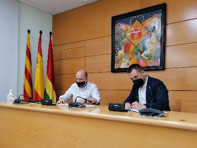 Signatura acord SAI Ajuntament de Barberà