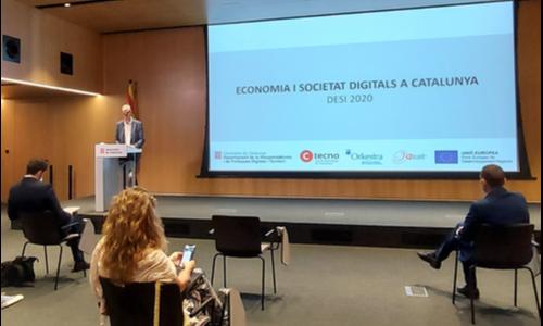 Presentació de l'informe DESI Catalunya 2020