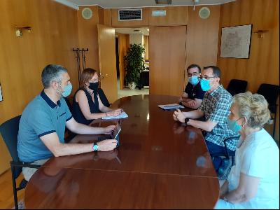 Reunió Solé amb Coral Shalom de Lleida