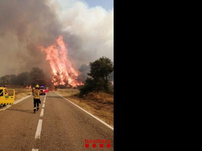 Incendi de Santa Coloma de Queralt