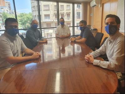 Solé amb el Col·legi d'Enginyers Industrials - Demarcació de Lleida