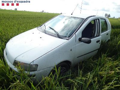 Vehicle sostret accidentat