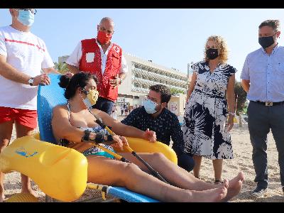 Visita mòdul de Creu Roja a Caldes d'Estrac