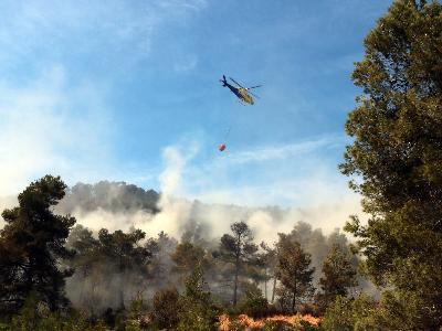 Interior prorroga les restriccions al medi natural fins dimecres per l'alt risc d'incendi (Foto_ ACN)