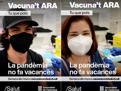 Salut impulsa una campanya per potenciar la vacunació entre la població catalana
