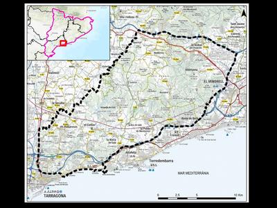 Mapa de la zona del PEIB