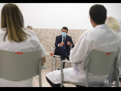 Reunió amb professionals Hospital Transfronteres de la Cerdanya