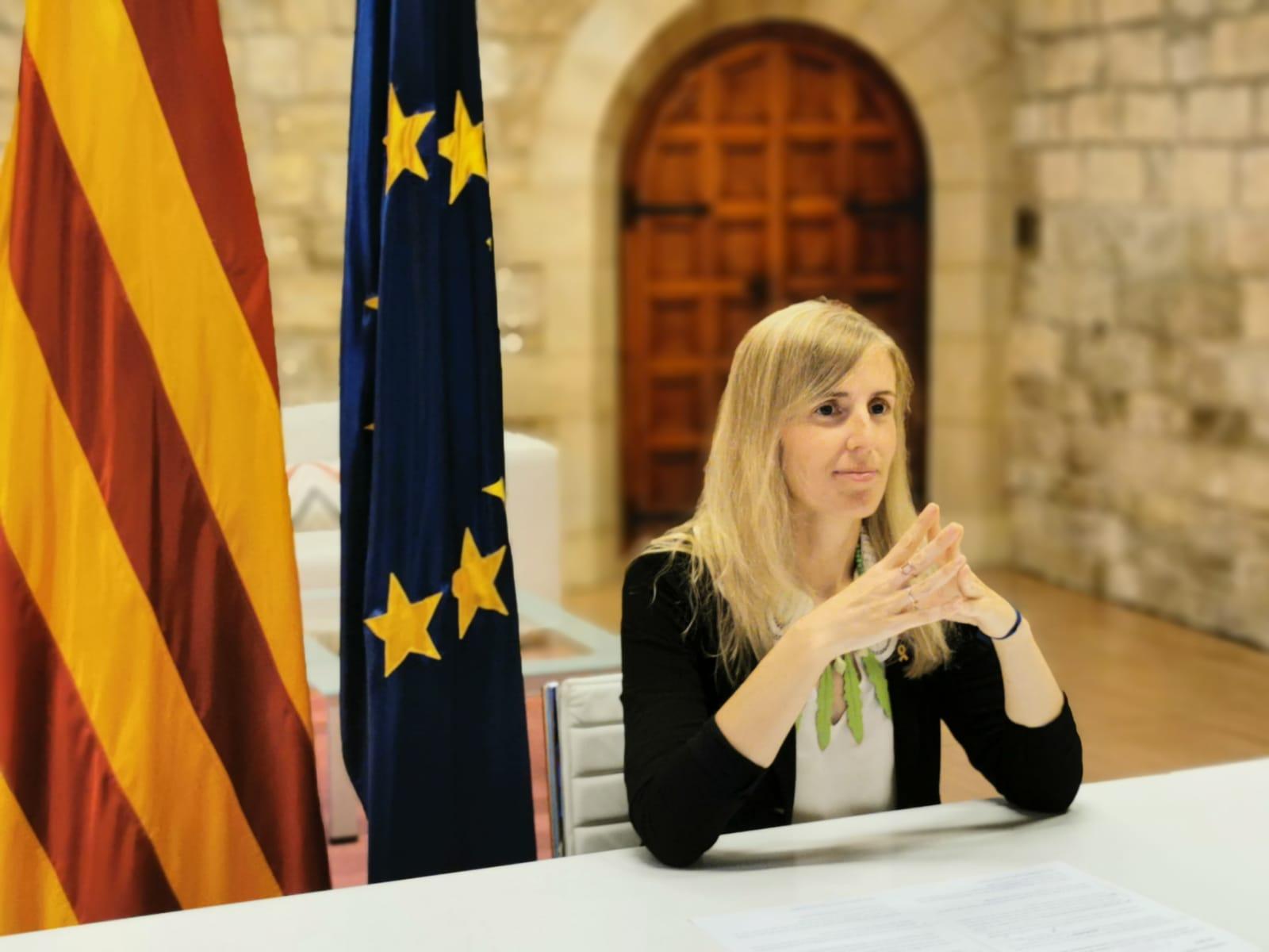 La consellera Alsina intervé en l'homenatge al bisbe Pere Casaldàliga