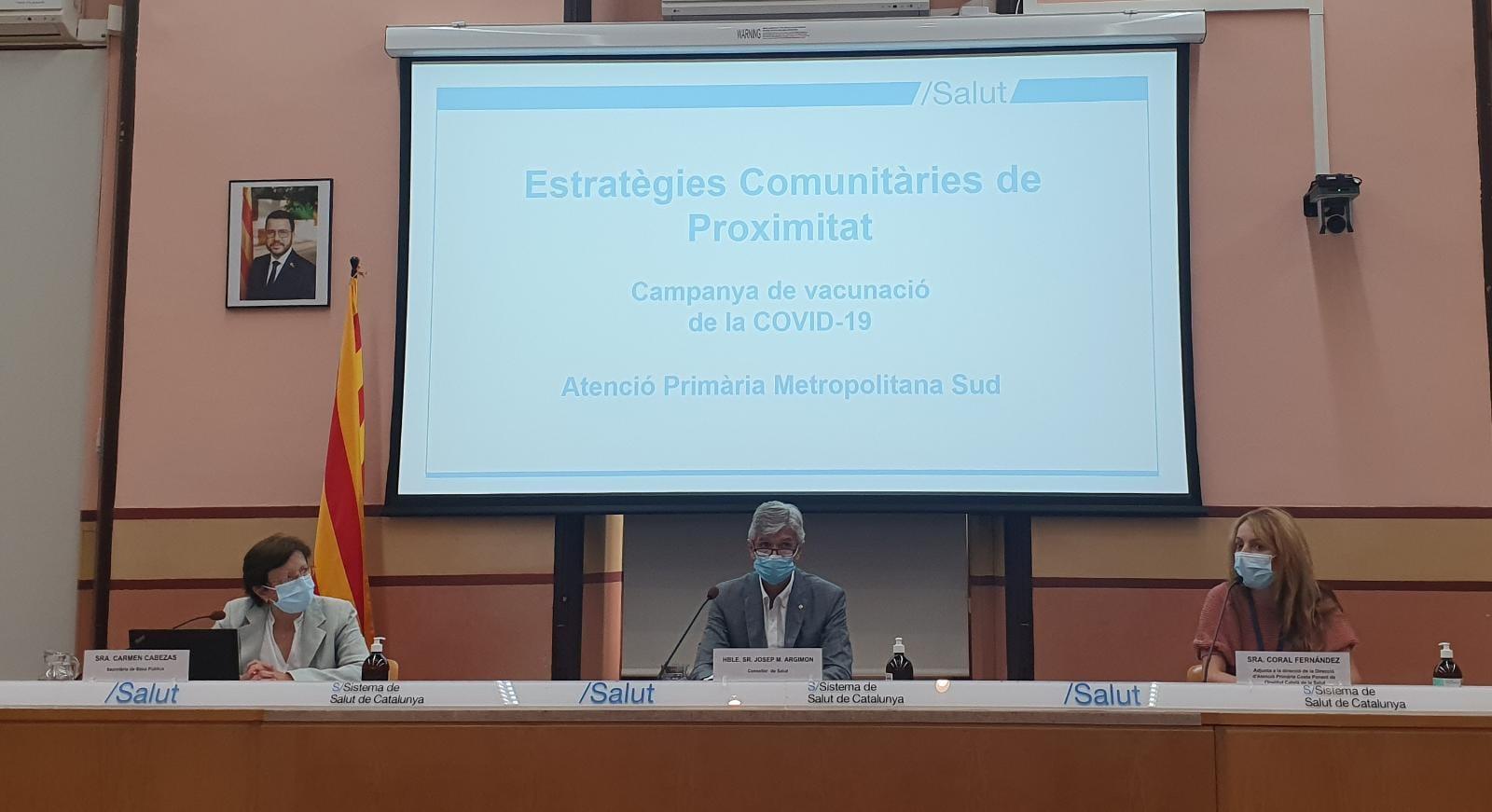 Cabezas, Argimon i Fernández, avui en roda de premsa