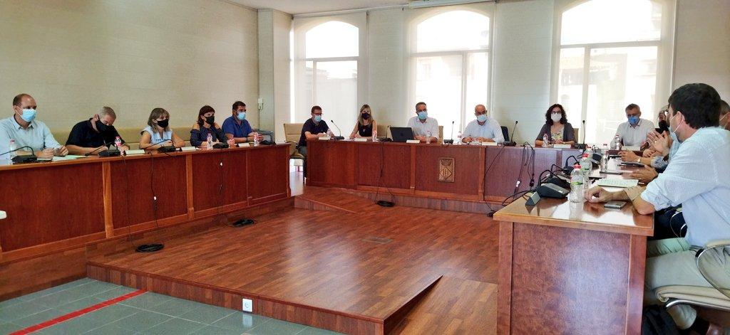El Govern de l'Ebre i l'Ajuntament d'Alcanar es reuneixen per valorar les afectacions dels darrers aiguats i coordinar les actuacions