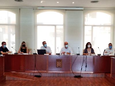 Reunió Govern i Ajuntament d'Alcanar post-aiguats
