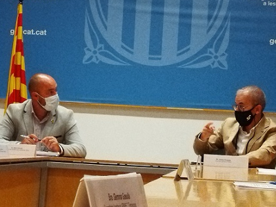 Reunió de la Delegació del Govern a les Terres de l'Ebre i PIMEC