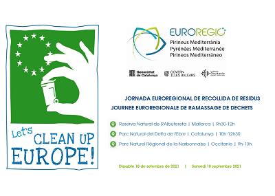 Jornada euroregional de recollida de residus
