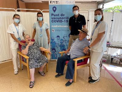 Vacunació tercera dosi a Lleida
