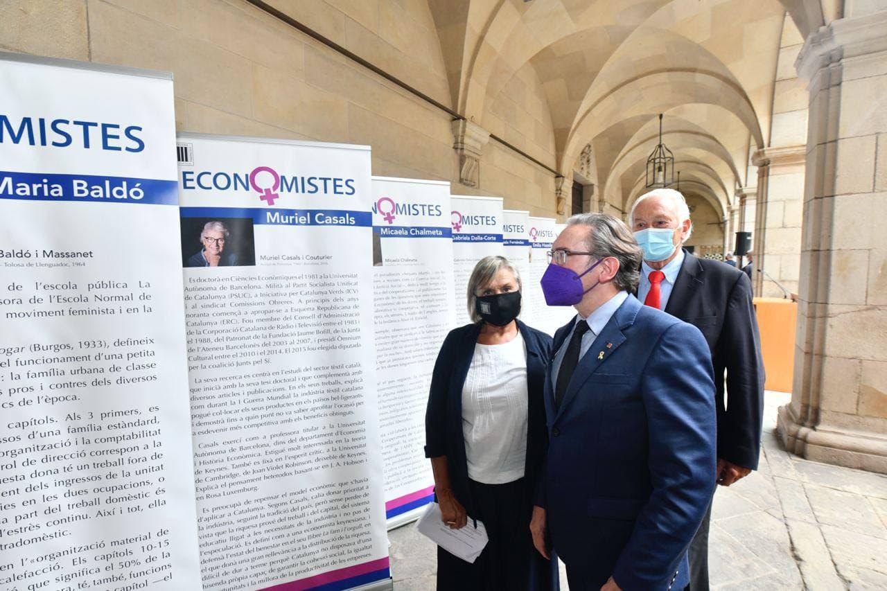 El conseller Jaume Giró inaugura l'exposició