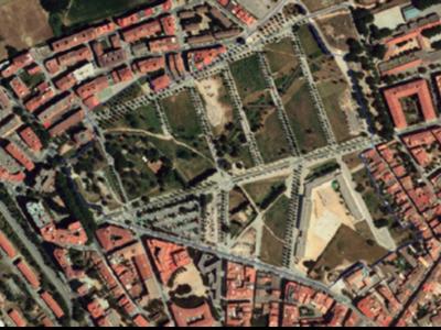 Buit urbà al sector de l'avinguda Costa Brava de Figueres.