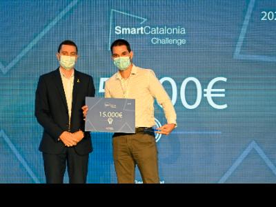 El guanyador de l'SmartCatalonia Challenge 2021 sobre mobilitat