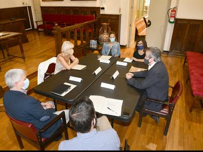 Visita del delegat a Esplugues de Llobregat