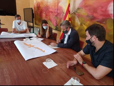 Visita del delegat a Sant Feliu de Llobregat