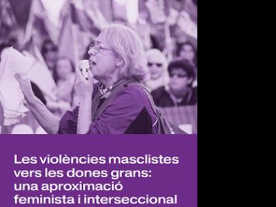 Dia Internacional de la Gent Gran. Portada estudi Institut Català de les Dones
