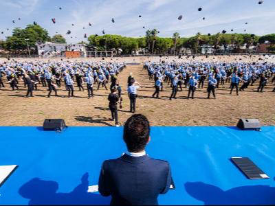 Lliurament diplomes 34ena promoció Escola Policia de Catalunya
