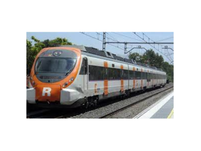 Imatge de recurs d'un tren de Rodalies