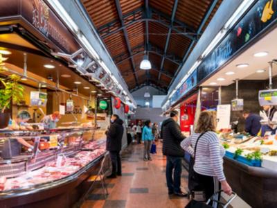 Fotografia del mercat de la Llibertat