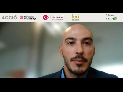 El director general d'Innovació i Emprenedoria, Lluís Juncà, en la jornada del Nanoday