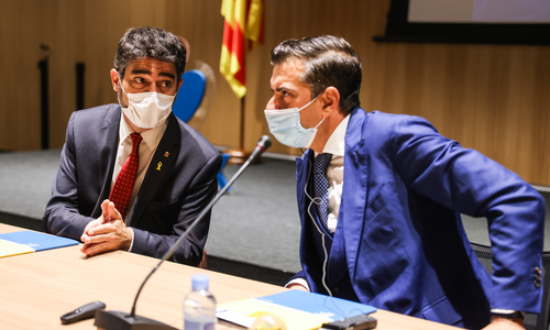 Presentació de la posada en marxa del punt d'intercanvi d'Internet DE-CIX Barcelona