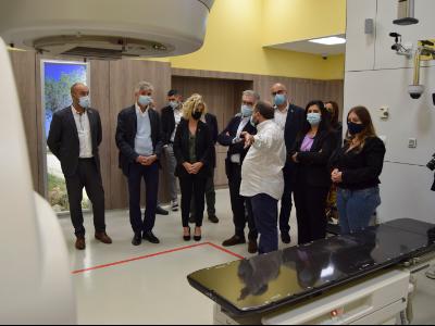 Nou accelerador lineal a l'Hospital de la Santa Creu